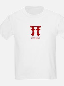 3STB RAKS Red-Printed Kids' Tee