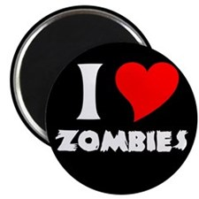 "I heart Zombies 2.25"" Magnet (100 pack)"