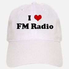 I Love FM Radio Baseball Baseball Cap