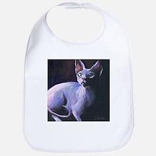 Sphynx Cat #13  Bib