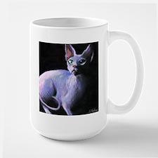 Sphynx Cat #13  Large Mug