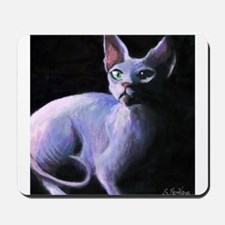 Sphynx Cat #13  Mousepad