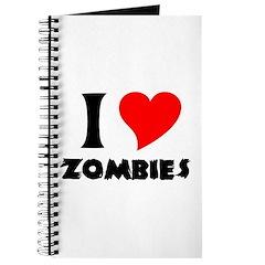 I heart Zombies Journal