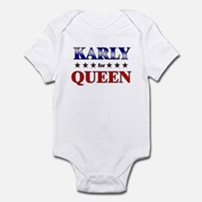 KARLY for queen Infant Bodysuit