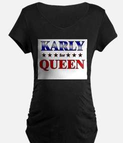 KARLY for queen T-Shirt