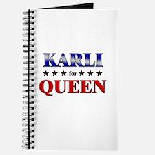 KARLI for queen Journal
