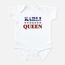 KARLI for queen Infant Bodysuit