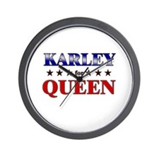 KARLEY for queen Wall Clock