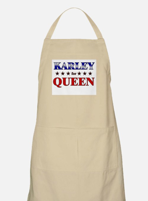 KARLEY for queen BBQ Apron