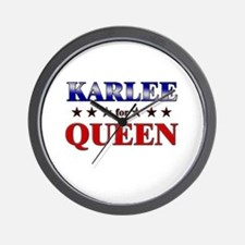 KARLEE for queen Wall Clock