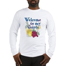 Welcome to my Soiree Long Sleeve T-Shirt