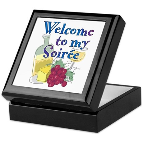 Welcome to my Soiree Keepsake Box
