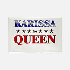 KARISSA for queen Rectangle Magnet