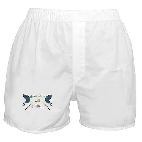 Have wand, will enchant Boxer Shorts