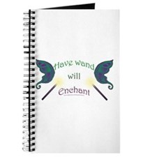 Have wand, will enchant Journal