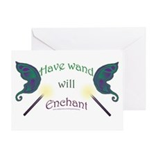 Have wand, will enchant Greeting Card