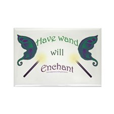 Have wand, will enchant Rectangle Magnet