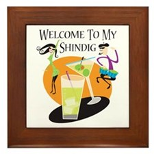 Welcome to my Shindig Framed Tile