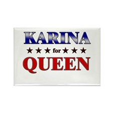 KARINA for queen Rectangle Magnet
