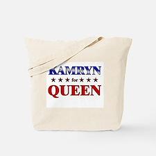 KAMRYN for queen Tote Bag