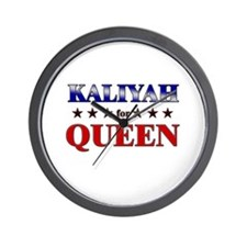 KALIYAH for queen Wall Clock