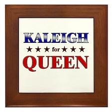 KALEIGH for queen Framed Tile
