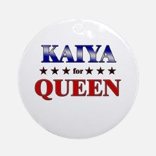 KAIYA for queen Ornament (Round)