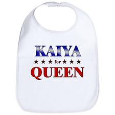 KAIYA for queen Bib