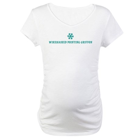 WIREHAIRED POINTING GRIFFON S Maternity T-Shirt