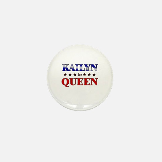 KAILYN for queen Mini Button
