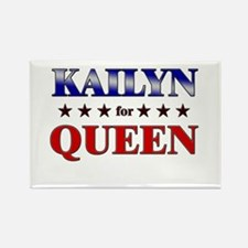 KAILYN for queen Rectangle Magnet