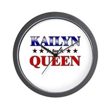 KAILYN for queen Wall Clock