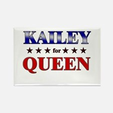KAILEY for queen Rectangle Magnet