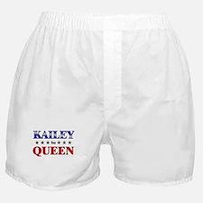 KAILEY for queen Boxer Shorts