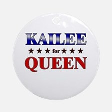 KAILEE for queen Ornament (Round)