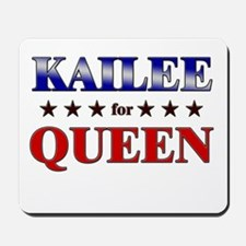 KAILEE for queen Mousepad