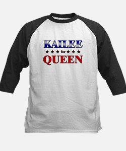KAILEE for queen Kids Baseball Jersey