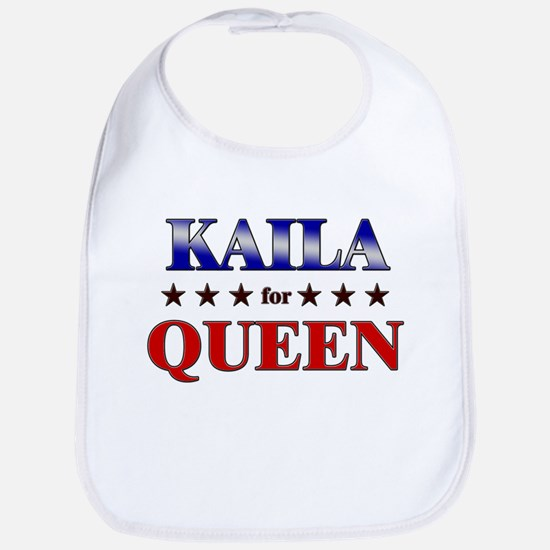 KAILA for queen Bib