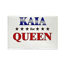 KAIA for queen Rectangle Magnet