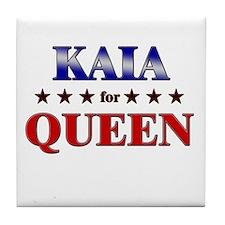 KAIA for queen Tile Coaster