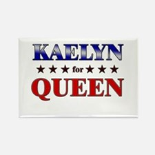KAELYN for queen Rectangle Magnet