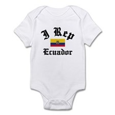 I rep Ecuador Infant Bodysuit