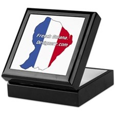 French Guiana Keepsake Box