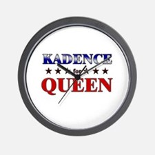 KADENCE for queen Wall Clock