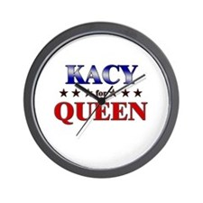 KACY for queen Wall Clock