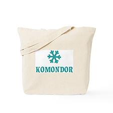 KOMONDOR Snowflake Tote Bag