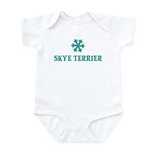 SKYE TERRIER Snowflake Infant Bodysuit