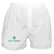 SKYE TERRIER Snowflake Boxer Shorts