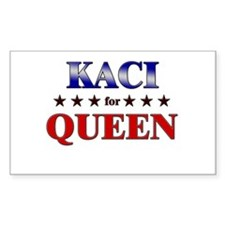 KACI for queen Rectangle Decal