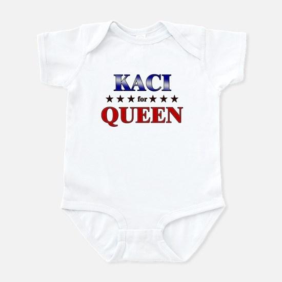 KACI for queen Infant Bodysuit